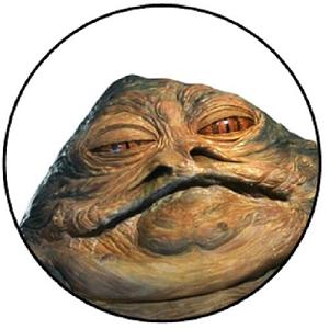 Aimant Jabba de Hutt