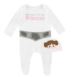 Barboteuse princesse Leia