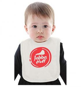 Bavoir bébé Jabba de Hutt