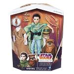Poupée aventurière princesse Leia et Ewok