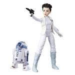 Poupée mannequin Princesse Leia R2D2
